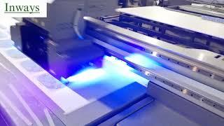 Inways Digital UV Flatbed Printer F2513i youtube video