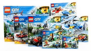 Video ALL LEGO City Mountain Police Compilation Speed Build Construction Toy MP3, 3GP, MP4, WEBM, AVI, FLV September 2018
