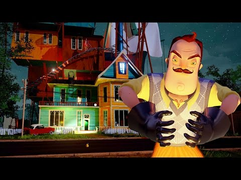 Hello Neighbor Alpha 3 - A NOVA CASA DO VIZINHO! (Parte 1) #SextaDeTerror