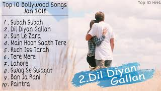 image of Top 10 Bollywood Songs Of January 2018 | New & Latest Bollywood Songs Jukebox 2018