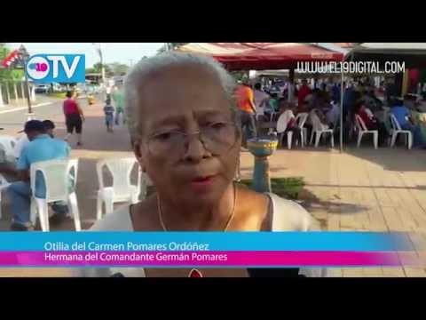 Chinandega rinde homenaje Germán Pomárez a 37 años de su tránsito a la inmortalidad