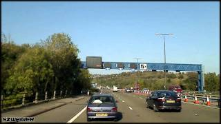 Newport United Kingdom  City pictures : 345 - United Kingdom. Wales. M4 - Newport [HD]