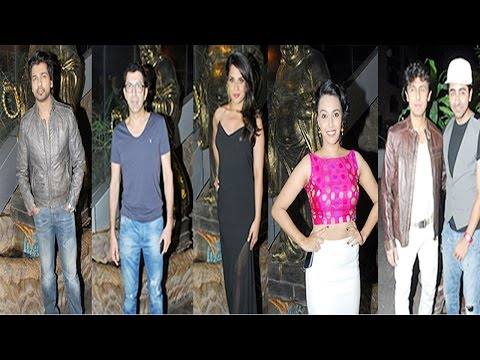 Sonu Nigam, Ayushman Khurana & Other Celebs At Richa Chaddha B'day Party