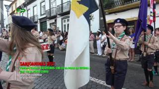 Sanjoaninas 2017 - Desfile de Charangas  - Escuteiros - CNE 23 e CNE 139 -  28 de Junho