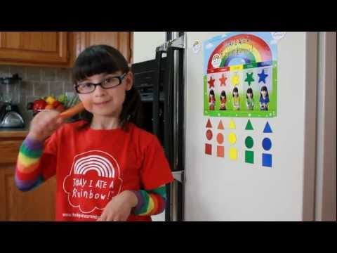Today I Ate A Rainbow! Song
