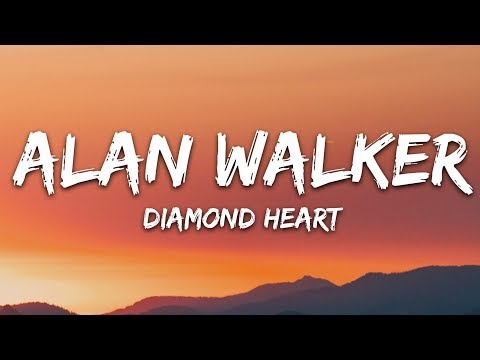 Alan Walker - Diamond Heart (Lyrics) feat. Sophia Somajo