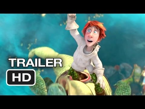 Justin And The Knights Of Valour 3D Official Trailer #1 (2013) - Saoirse Ronan Movie HD