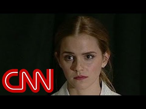 m. - UN Women's Goodwill Ambassador Emma Watson gives a speech at an event focusing on gender inequality. More from CNN at http://www.cnn.com/ To license this and other CNN/HLN content, visit http://co...