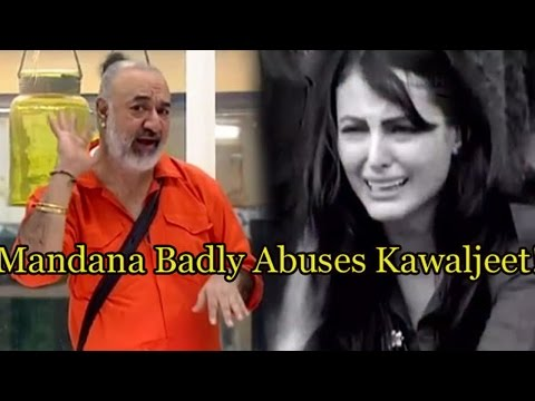 Bigg Boss 9: Mandana Karimi Badly Abuses Kawaljeet