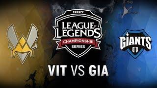 Video VIT vs. GIA - Week 6 Day 1 | EU LCS Spring Split |  Team Vitality vs. Giants Gaming (2018) MP3, 3GP, MP4, WEBM, AVI, FLV Juli 2018