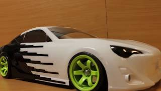 EAC RC Body Build -- Toyota 86 -- UPGARAGE Drift Body