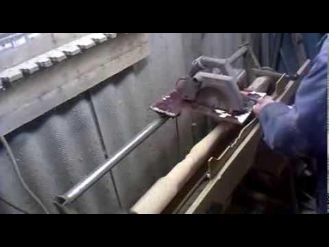 Токарный станок с копиром по дереву своими руками
