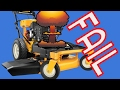 Cub Cadet 33 inch Wide Cut Mower Problems