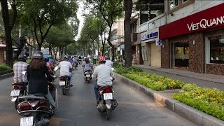 Downtown Saigon 2015 - District 1 Street View - 4K