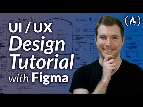 UI / UX Design Tutorial – Wireframe, Mockup & Design in Figma