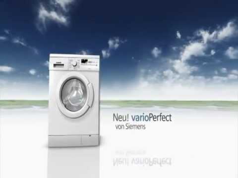 Siemens - Waschmaschinen mit varioPerfect | Erhältlich bei moebelplus