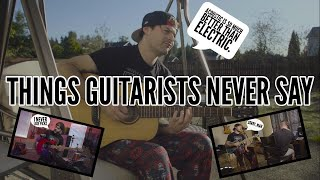 Video things guitarists NEVER say MP3, 3GP, MP4, WEBM, AVI, FLV September 2018