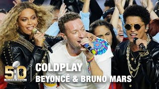 Nonton Coldplay S Full Pepsi Super Bowl 50 Halftime Show Feat  Beyonce     Bruno Mars    Nfl Film Subtitle Indonesia Streaming Movie Download