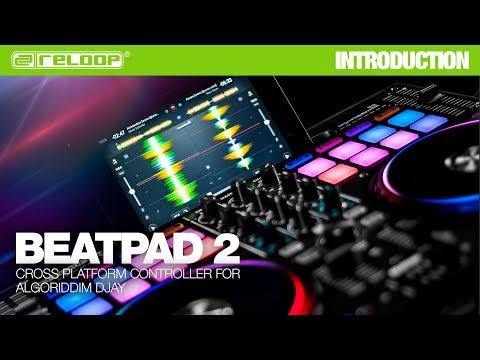 Beatpad 2: iOS + Android + Mac Controller for DJAY 2
