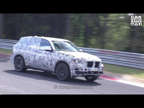 SPYSHOT | NEW 2018 BMW X7 on the Nurburgring!