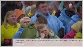 Homilía del Santo Padre en el Santuario de la Madre de Dios 24-09-2018