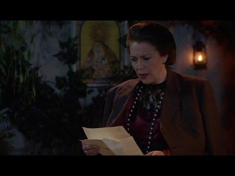 il segreto - donna francisca riceve la notifica di una denuncia