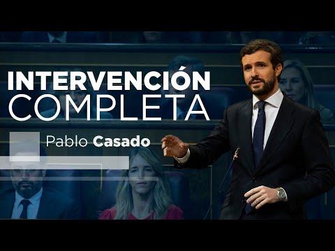 Intervención completa Pablo Casado en la sesión de...