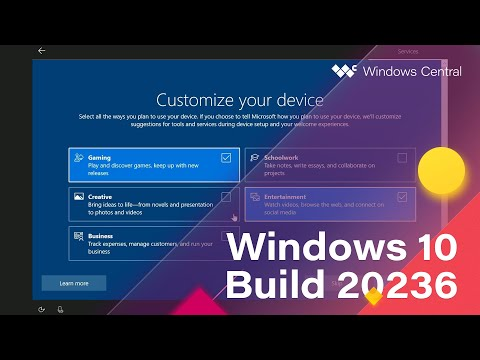 Windows 10 Build 20236 - Meet Now, 10X OOBE, Settings, UI Tweaks + MORE