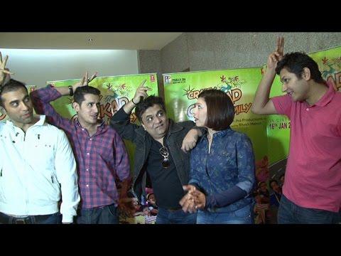 Promotion of film crazy kukkad family