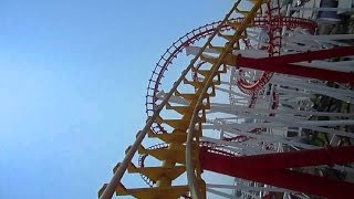 This is the handheld video of Millennium Roller Coaster I filmed along with the mounted 3D GoPro videos I posted on the CoasterForce Youtube channel.