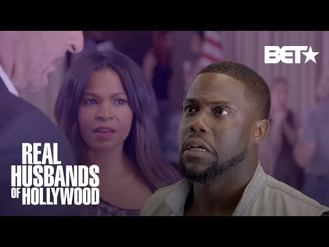 This Kevin Hart and Nia Long Scene Was Too Steamy! | Real Husbands of Hollywood