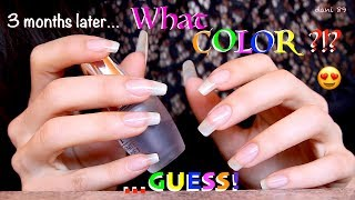 READ ME PLEASE! ✅ Binaural ASMR video with...... NAIL-POLISH for dani once again! 😍😍😍 ....After over three months I polish my nails with......... WHAT COLOR? 😊 💜💙💚💛❤️ ...GUESS IT! (Write in the comment section #COLOR) .............and....You? What color do you prefer for me??????? (Write me in the comment section #COLORfordani) [with # I'll see it better between the comments! THANX! 💋] ✅I'll polish my nails in many of the next videos! 💅🏻💅🏻💅🏻💅🏻💅🏻👉🏻 However in this video there are some of you favorite TRIGGERS like SCRATCHING table, TAPPING table, HAND MOVEMENT, ETC:::::!!! 😍 ☺️☺️☺️I hope you like it and enjoy it for your relaxation! 💤Suggestions are always welcome!!! ...PLEASE leave me comments, share this video with your friends, write me and subscribe on my channel! ♥ I'll really appreciate it!THANK YOU SO MUCH! ❤️I want to make high quality video, with special items and perfect sound, but to do that I also need you!I need your support to be able to buy new tools, particularly new professional microphones (I'd like   3 D i o  microphone!)!!I need your support to improve and grow more and more and at the same time to offer products of higher quality and amazing!I hope to have a helping hand from you who support me and believe in me! Each month I'll publish for you new videos...10-11 at least!The ASMR is a wonderful world that must be supported, especially here in Italy, where it still is not well known. The ASMR gives countless benefits to the people, can help stress, depression, anxiety, sadness. etc.I'll do everything to make you feel better and help you relax! 💤 ----------------------------------------SUPPORT MY CHANNEL----------------------------------------✦ SUPPORT ME with PAYPALif you want help me to improve the quality of this channel:https://www.paypal.com/cgi-bin/webscr?cmd=_s-xclick&hosted_button_id=JLDPTT9GLDES4Thank you very much for your generosity and kindness ❤️✦ PATREON: https://www.patreon.com/dani89---------------------FOLLOW ME---------------------✦ FACEBOOK dani 89: https://www.facebook.com/dani89longnaturalnails✦ INSTAGRAM: https://www.instagram.com/dani89_officialpage/✦ (second channel YouTube) dani ASMR: https://www.youtube.com/channel/UChR0iHoF8N_KRrIyhH-Plig---------------------------------------------------------------For BUSINESS and PRIVATE INQUIRIES---------------------------------------------------------------✎ If you want me to try your products or for any other request, please contact me on ✉ daniela.uptodate@gmail.com