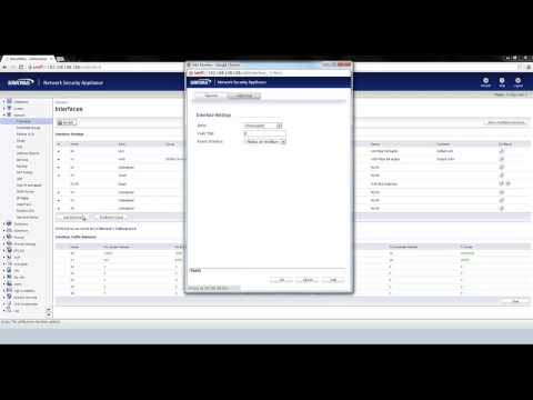 How to configure SonicPoints for two wireless networks on a SonicWall
