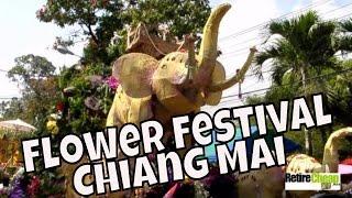 Chiang Mai Flower Festival 2013