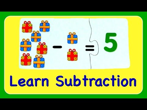 Subtraction Learn How To Subtract & Minus Numbers!  Fun Math YouTube Video For Kids!