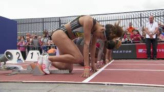 150m Women'sDesiree Henry 16.57 NRGreat North City Games Newcastle 2016 FULL HD