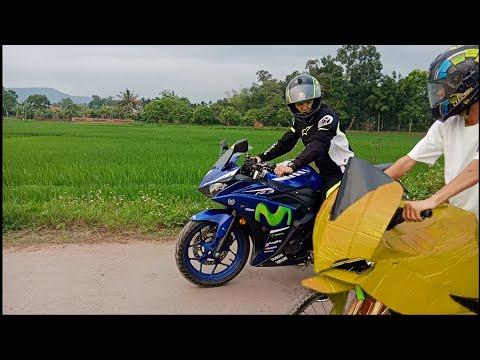 Ducati v4s chế từ xe đạp gặp pkl R3 | nhết tv - Thời lượng: 10:01.