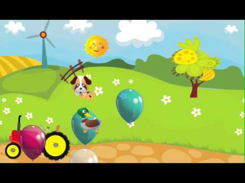 Video of Farm Balloon Pop for Toddlers