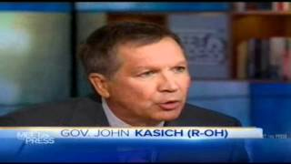 Ohio Gov. John Kasich on NBC's Meet The Press
