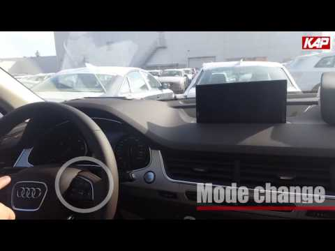 AUDI Q7 2016 (Rear camera Interface)