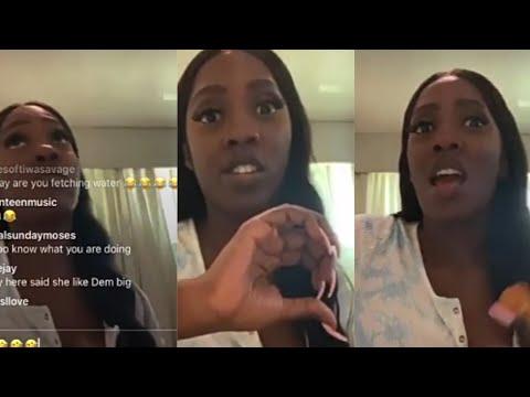 Watch Tiwa Savage Talks Relationship With Wizkid On Live Video
