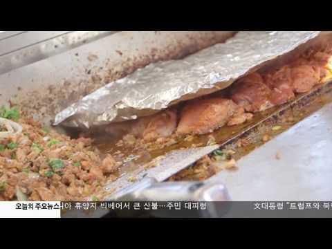 뉴욕시 식품 노점상 위생 빨간불  6.20.17 KBS America News