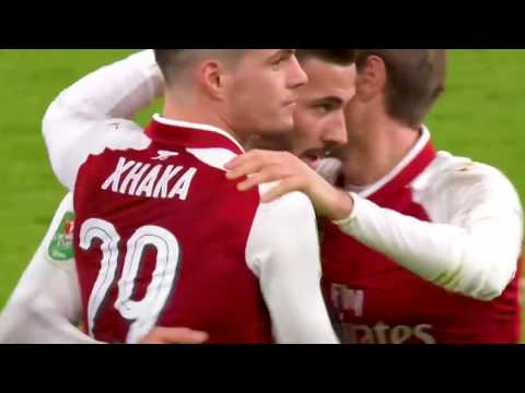 Arsenal vs Chelsea 2 1   All Goals & Extended Highlights   EFL Cup 24 01 2018 HD   YouTube