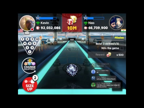 Bowling King Road To 100 Million!