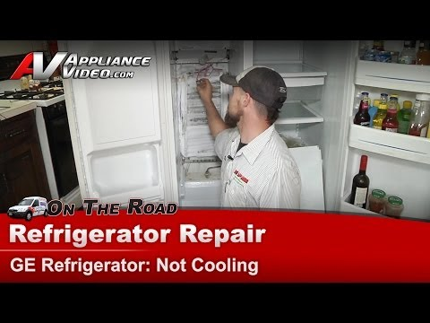 GE Refrigerator Repair – Not Cooling – GSS25QGMDWW