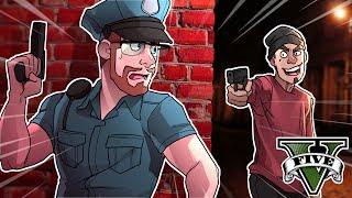 GTA 5 COPS - GANG VS COPS! (GTA 5 LSPDFR COP MOD)