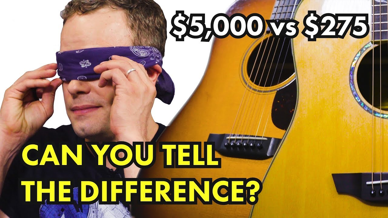 $275 vs $5000 Acoustic Guitar