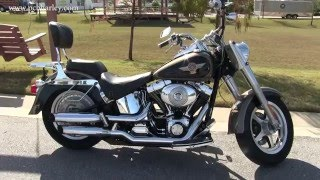 6. Used 2005 Harley Davidson FLSTF Fat Boy