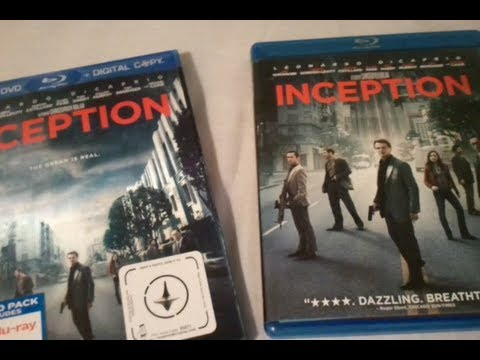 Inception (2010) - Blu Ray Review And Unboxing