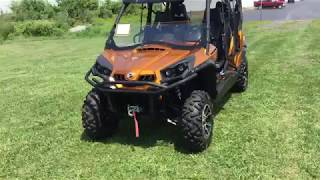 10. 2016 Can Am Commander Max 1000 Limited Walk Around
